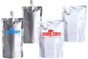 Foil Spouted Liquid Stand up Pouch