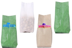 Rice Paper Side Gusseted Pouch