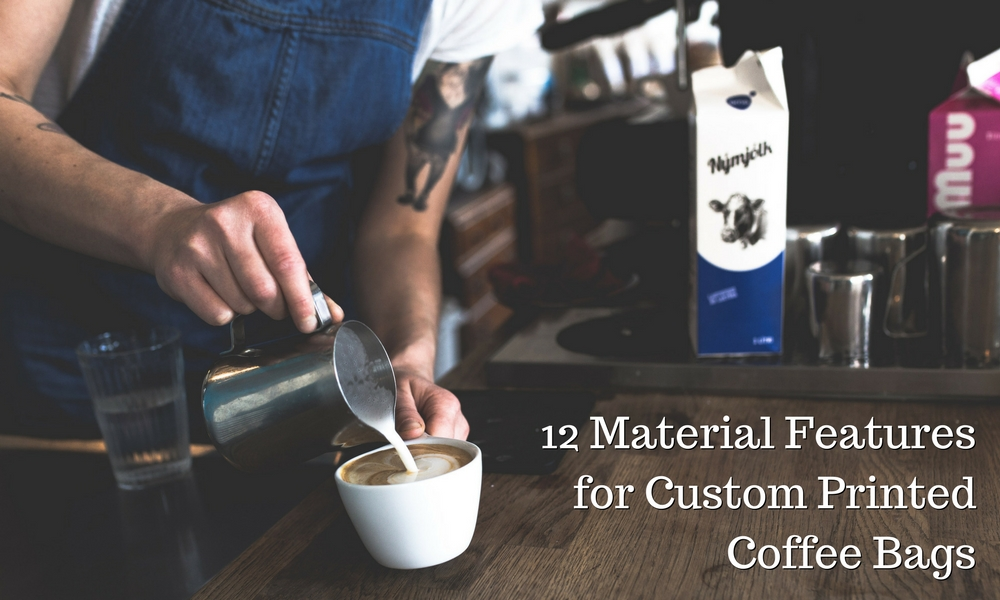 12 material features for custom printed coffee bags