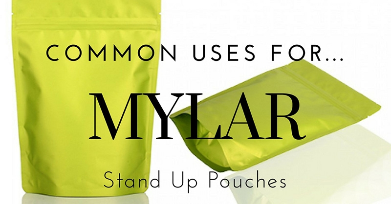 stand up mylar bags